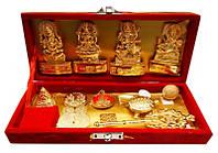 Алтарный набор 4 бога + атрибуты в коробке