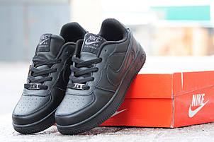Мужские кроссовки Nike Air Force черные 41,44р, фото 2