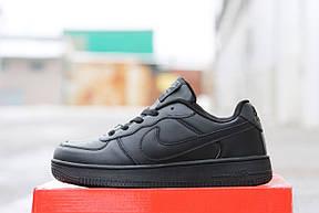 Мужские кроссовки Nike Air Force черные 41,44р, фото 3