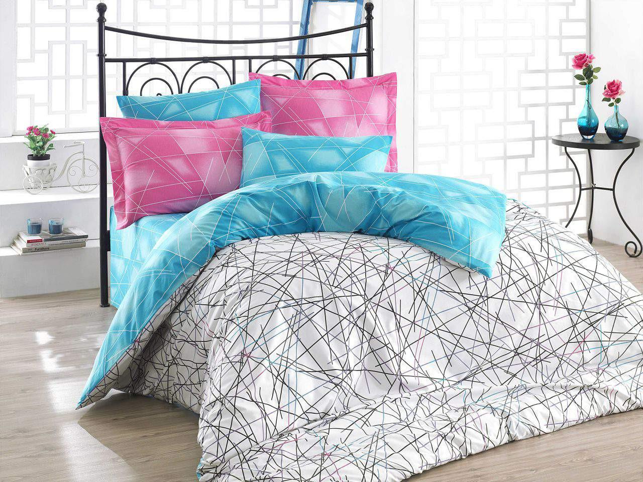 Подростковый постельный комплект Elisa (Pink), Hobby