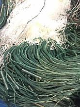Сеть рыболовная трехстенная(порежная) высота 5 метров, длинна 100, ячейка 50