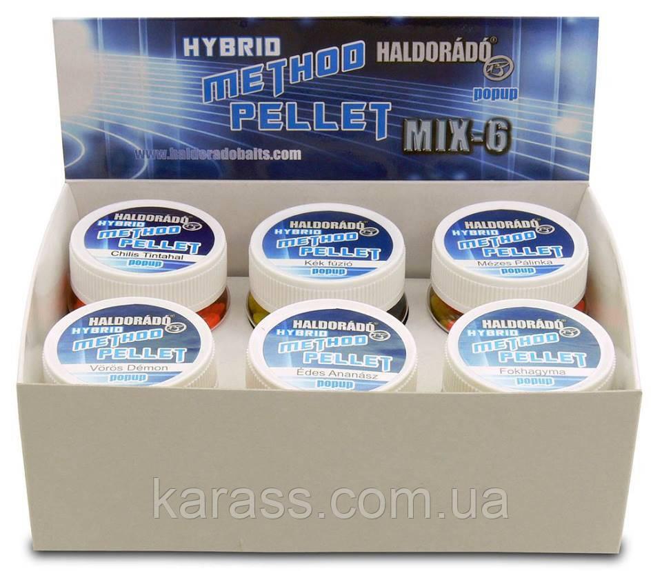 HALDORÁDÓ Hybrid Method Pellet - MIX-6