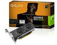 GALAX запускает низкопрофильные GTX 1050 OC и GTX 1050 Ti OC