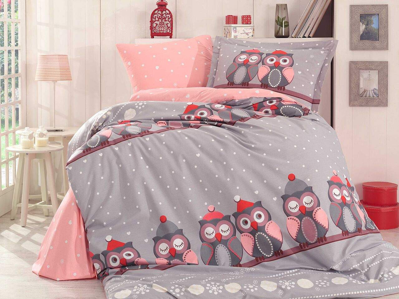 Подростковый постельный комплект Linda (Grey), Hobby