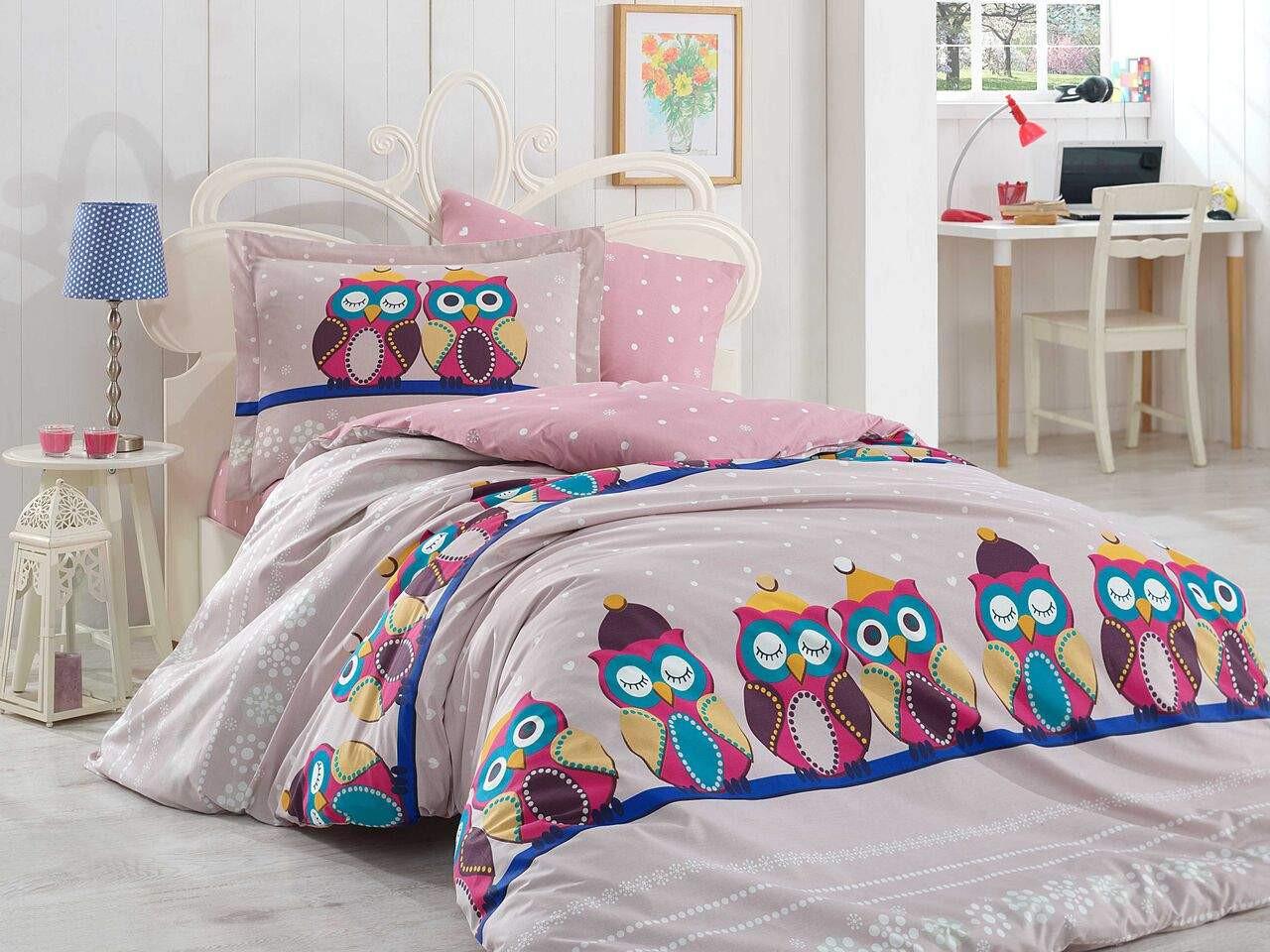 Подростковый постельный комплект Linda (Purple), Hobby