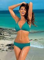 Раздельный зеленый женский купальник бикини Marko