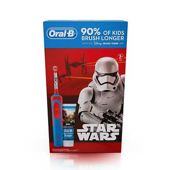 Щетка BRAUN D 12 KIDS  STAR WARS +зубная паста