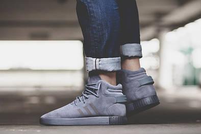 Мужские кроссовки Adidas Tubular Invader Gray