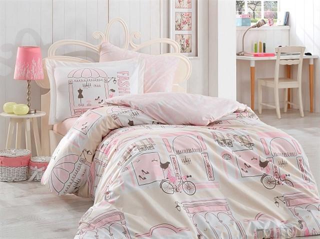 Подростковый постельный комплект Sonia (Pink), Hobby