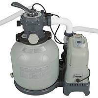Фильтр-насос песочный с хлоргенератором Intex 28676
