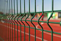 Сетка сварная оцинкованная с полимерным покрытием Рубеж 4/4. Забор ограждение.