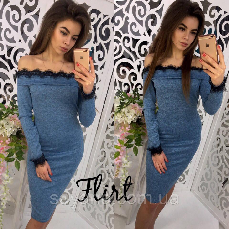 f0d9096205137f3 Купить Женское элегантное платье с кружево, 4 цвета. Аг-4-0217 ...