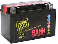 Мотоаккумулятор Fiamm 12 вольт 8 ампер для вашей техники, размер 150х87х105  FTX9-BS