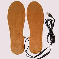 Стельки с подогревом Нагревательные элементы USB для ног теплые стельки термоэлементы мужские, Киев