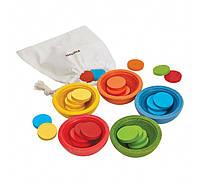 Развивающая игрушка Plan Тoys - Чашки-сортер