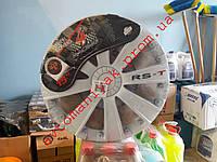 Колпаки автомобильные колесные Argo RST White R15