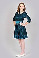Гипюровое платье для девочки-подростка