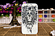 Чехол бампер для Samsung  J110 Galaxy J1 Ace с рисунком Оскал тигра, фото 5