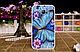 Чехол бампер для Samsung  J110 Galaxy J1 Ace с рисунком Оскал тигра, фото 8
