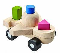 Развивающая игрушка Plan Тoys - Пазл-сортер-самолет, фото 1