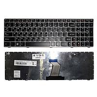 Клавиатура Lenovo IdeaPad G570 Z560 Z560a Z565a RU Grey Frame Black Original