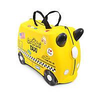 Детский чемоданчик на колесах TRUNKI TONY THE TAXI