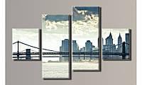 "Модульная картина на холсте ""New York City 5"""