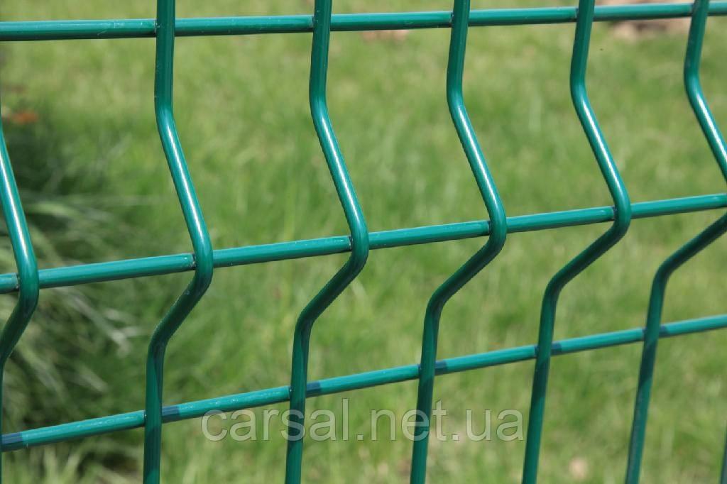 Сетка сварная оцинкованная с полимерным покрытием Рубеж 5/5.Забор ограждение.