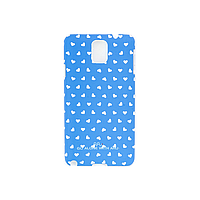 Чехол ARU для Samsung Galaxy Note 3 Hearts Blue