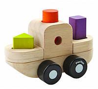 Развивающая игрушка Plan Тoys - Пазл-сортер-лодка