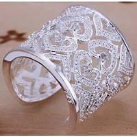 Кольцо Ажур дизайн Tiffany размер 18