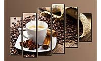 "Модульная картина на холсте ""Кофе 2"""