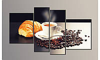 "Модульная картина на холсте ""Кофе 3"""