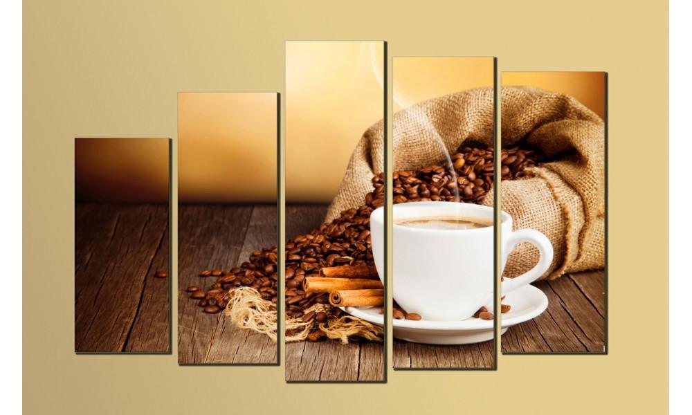 "Модульная картина на холсте ""Кофе 4"""