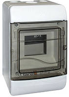 Корпус пластиковый навесной (NT) 5-модульный, однорядный, без дверцы IP 40, фото 1