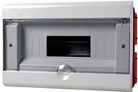 Корпус пластиковый 8-модульный e.plbox.stand.w.08, встраиваемый, фото 1