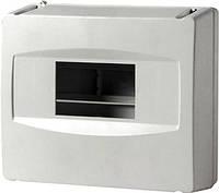 Корпус пластиковый 8-модульный e.plbox.stand.08, без дверки, фото 1