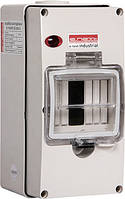 Щиток распределительный e.industrial.box.4, до 4-х модулей влагозащищенный, IP65, фото 1