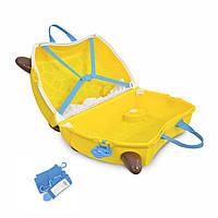 Детский чемоданчик на колесах TRUNKI GERRY GIRAFFE