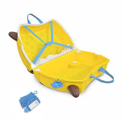Детский чемоданчик на колесах TRUNKI GERRY GIRAFFE, фото 2