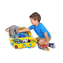 Детский чемоданчик на колесах TRUNKI GERRY GIRAFFE, фото 3