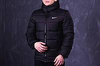 Зимняя мужская спортивная куртка Nike, черная
