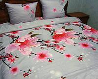 Комплект постельного белья полуторный из сатина