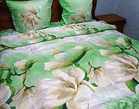 Комплект постельного белья евро размер из сатина