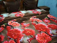 Комплект постельного белья семейный размер из сатина