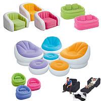 Надувная мебель INTEX (кровати, диваны, кресла)