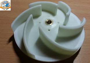 Крыльчатка D 110мм H 32мм арт. 521238 насоса Alba Pumps для Colged, Electrolux и др.