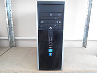 Компьютер для офиса и дома HP 8000 Elite MT на Core 2 Quad (Лицензия Windows 7 Pro)