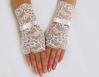 Свадебные перчатки