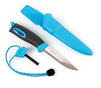 НОЖ-ОГНИВО LIGHT MY FIRE KNIFE CYAN BLUE (12112710)